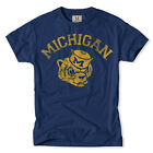 TAILGATE CLOTHING CO. MICHIGAN FOOTBALL VINTAGE T-SHIRT SMALL TO 3XL