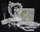 2 Souls Intwined Butterfly Garden U PICK Wedding Cake Topper, Knife Glasses Book