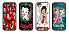 Betty Boop animated iPhone 4s 5s 6 Samsung S3 4 5 6 Plus Sony HTC Case Cover £5.98 GBP