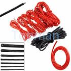 1/2/5/10 Meter Red/Black Silicone Wire Cable 10/12/14/16/18/20/22AWG LOT