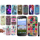 For ZTE Allstar Z818L Stratos Z819C Z819L TPU SILICONE Rubber Case Cover + Pen
