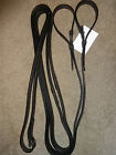 LEATHER DRAW REINS 2 COLOURS - ONE SIZE