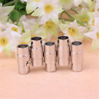 10pcs Magnetic lock clasps glue In Barrel 3-8 mm leather Jewelry Finding