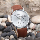 Fashion Women Men Watch Leather Analog Quartz Couples Watch Wrist Fit For Gift