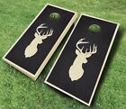 STAINED CORNHOLE BOARDS GAME SET Bean Bag Toss + 8 ACA Regulation Bags