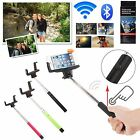 WIRELESS BLUETOOTH TRAVEL SELFIE STICK SELF PORTRAIT MONOPOD FOR ALL SMARTPHONES