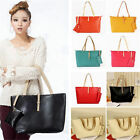 Fashion Women Leather Shoulder Bag Handbag Purse Messenger Shopper Tote Satchel