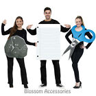 CL767  Rock Paper Scissors Couple Group Costume Game Pair Funny Halloween Outfit
