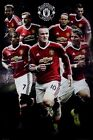 Manchester United Football Club Star Players 2015/16 MUFC Poster 61x91.5cm