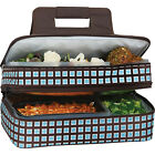 Picnic Plus Entertainer Hot & Cold Food Carrier 14 Colors Travel Cooler NEW