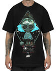 Sullen Clothing For Lyfe Mens T Shirt Black Skull Tattoo Tee Goth