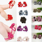 Hot Baby Toddler Infant Girl Barefoot Flower Sock Sandals Shoes Toe Blooms 0-12M