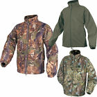 Jack Pyke Waterproof Camo Fleece Jacket Fishing Hunting Shooting (S0)