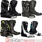 Spada Curve Evo WP Motorcycle Boots Leather Waterproof Race Anti-Slip All Sizes