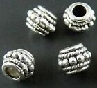 100/2100pcs Tbetan Silver Bail Style Bead Spacers 8x6mm zn771