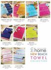 Beach Towel by Catherine Lansfield Many Colours Gym Swimming Holiday Towel