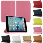 Leather Magnetic Smart Hard Case Folding Stand Slim Cover For Apple iPad Mini 4