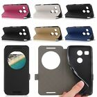Flip View Window PU Leather Magnetic Stand Protector Case Cover For LG Nexus 5X