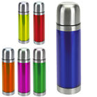 500ML STAINLESS STEEL FLASK INSULATED VACUUM BOTTLE CUP THERMAL ON THE GO DRINKS