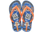 Ipanema SK8 Kids Flip Flops / Sandals - Blue Orange - 81567C