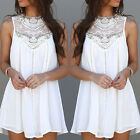 New Summer Women Sleeveless Party Dress Evening Cocktail Casual Mini Dresss TG