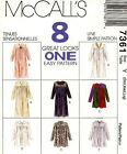 McCall Plus SM--XXLG 8 Robes