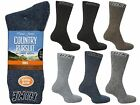 6 Mens David James Cotton Blend Outdoor Walking Hike Socks UK 6-11