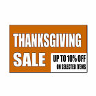 Thanksgiving Sale 10% On Selected Items Custom Car Door Magnet Sign-QTY 2