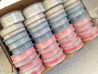 BABY Pinks Blues Laces MINI Ribbon - 9 - 27mm - 10 designs - var length reels!