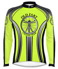Primal Wear Old Fart Cycling Jersey HiViz Men's Long Sleeve with DeFeet Socks