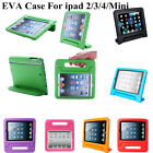 Safe Foam Protective ShockProof Kids Handle Case Cover For iPad 2/3/4/iPad Mini