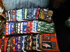 "NFL logo Potholders in all football team fabrics, 8""x 8"" - NEW $5.99 USD on eBay"