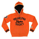 NHL Kids Philadelphia Flyers Team Classics Zip Up Hoodie, Orange