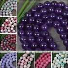 10mm Natural Jade Dyed Gemstone Round Ball Beads Loose Jewellery Making DIY Gift