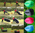 Hot Fast Inflatable Bean Flatfish Sleeping Bed Sofa Air Bag For Camping Hiking