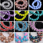 50pcs 8mm Rondelle Faceted Cut Crystal Glass Loose Spacer Beads 234 Colours Lot