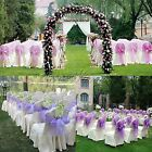Beautiful Organza Sash Chair Bow for Wedding Event Banquet Party Supply Decor