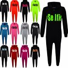 "Kids Girls Boys "" #Selfie "" Onesie All In One Summer Jumpsuit PJ's Age 7-13 Year"