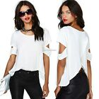 Summer Fashion Women Ladies Boho Loose Tops Off Shoulder Sexy T-Shirt Blouse