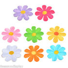 5PCs Flowers Embroidered Patches For Clothes Garments Sewing DIY Craft 3.7cm