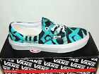 VANS ERA 'DELLA' MULTI BLUE LACE UP TEXTILE TRAINERS. . BNIB