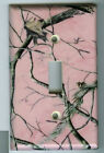 Realtree PINK Light Switch Cover Camo Deer Hunting Single FREE SHIPPING
