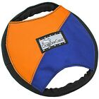 Doggone Good Flying Tug & Treat Frisbee Disc w Pocket - Agility Release Dog Toy