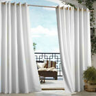 Indoor/Outdoor Decor Gazebo Solid Grommet Top Window Panel White