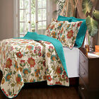 Greenland Home Clearwater Quilt & Sham Set, Twin, Full/Queen Or King