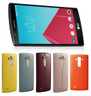 LG G4 H811 32GB T-Mobile Smartphone Genuine Leather ORANGE PINK YELLOW RED BLUE