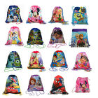 LOT 12 Disney Kids Sling Bag Backpack Cars Mickey Princess Birthday Party Favors