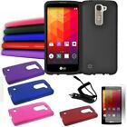 Phone Case For Straight Talk LG Treasure 4g LTE Hard Cover Film Car Charger