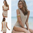 Fashion Women Lace Crochet Sexy Swimsuit Bikini Cover up Sundress Beach Dress