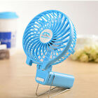 Portable Foldable Battery USB Personal Rechargeable Handheld Clip-on Mini Fan